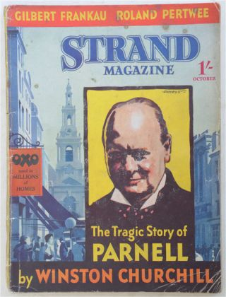 The Tragic Story of Parnell, in Strand Magazine October 1936. Winston S. Churchill