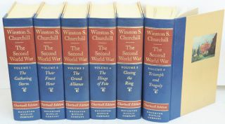 The Second World War, 6 volume set. Winston S. Churchill