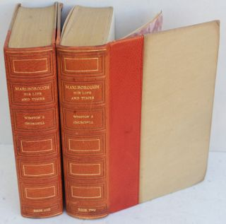 Marlborough: His Life and Times (2 volume edition in publishers leather binding). Winston S....