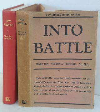 Into Battle Shanghai edition. Winston S. Churchill
