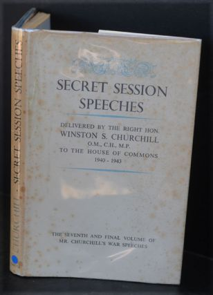 Secret Session Speeches, signed copy