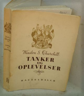 Tanker og Oplevelser ( Danish translatioin of Thoughts and Adventures. Churchill Winston S