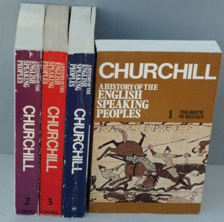 A History of the English-Speaking Peoples, 4 vols paperback. Winston S. Churchill
